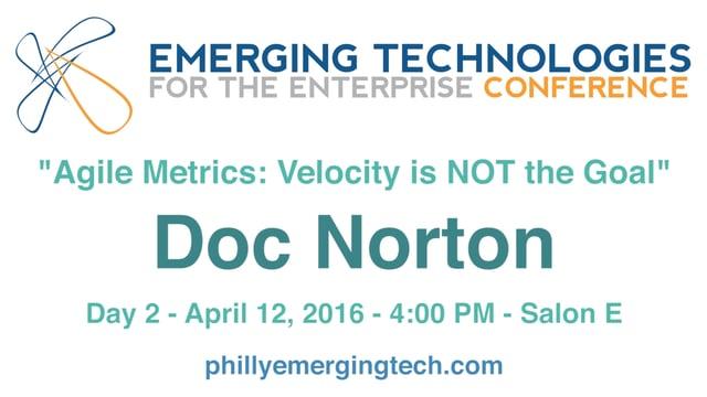 Agile Metrics: Velocity is NOT the Goal
