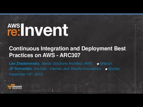 Best Practices for Continuous Integration and Deployment on AWS