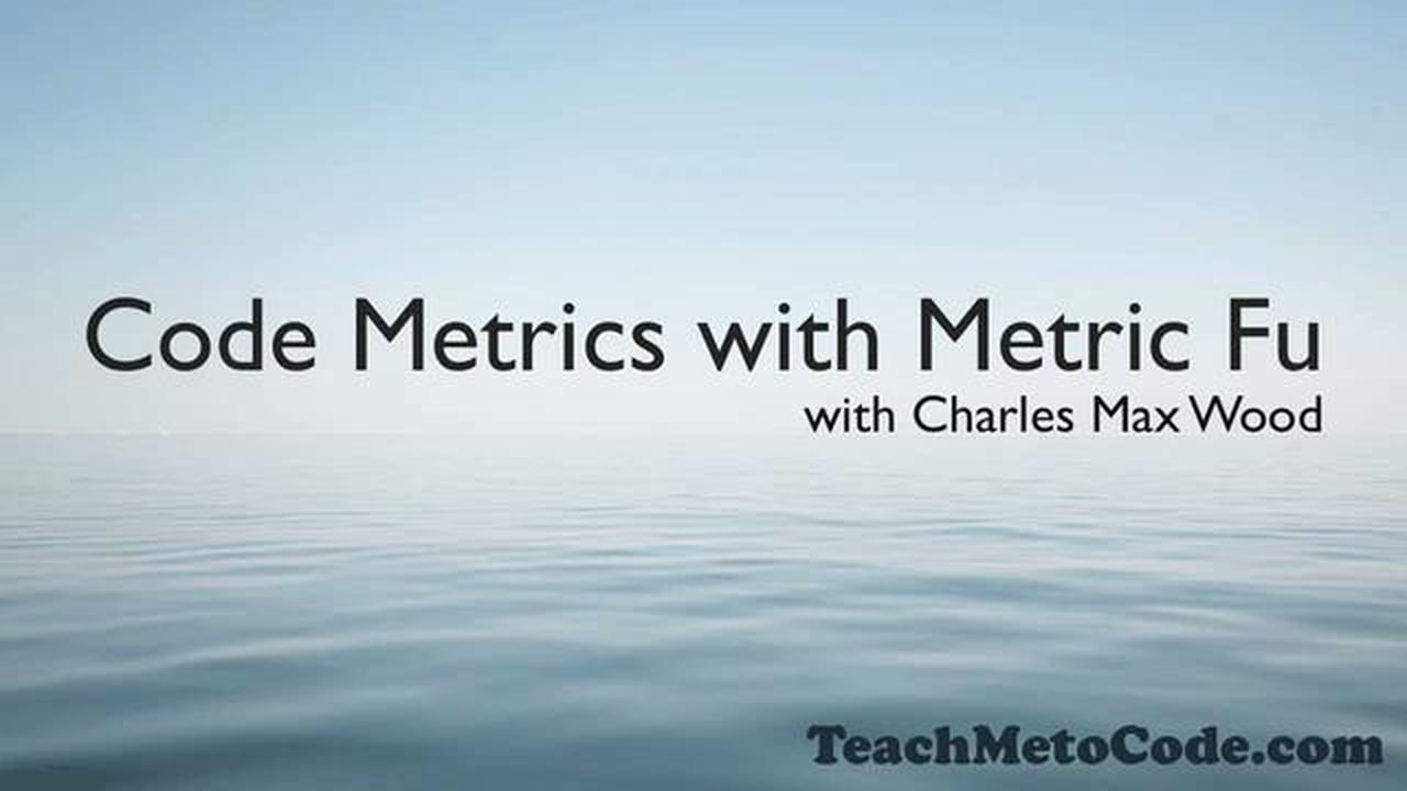 Code Metrics with Metric Fu