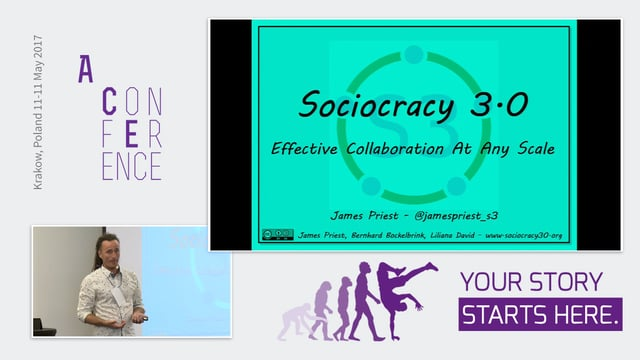 Enterprise Wide Agility With Sociocracy 3.0 (S3)