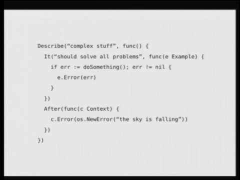 Go Behave! A BDD Framework for the Go Programming Language