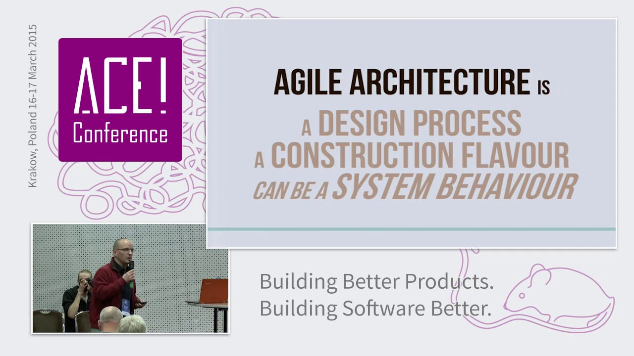 Agile Software Architecture from the Trenches