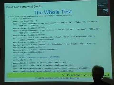 Automated Testing Patterns and Smells