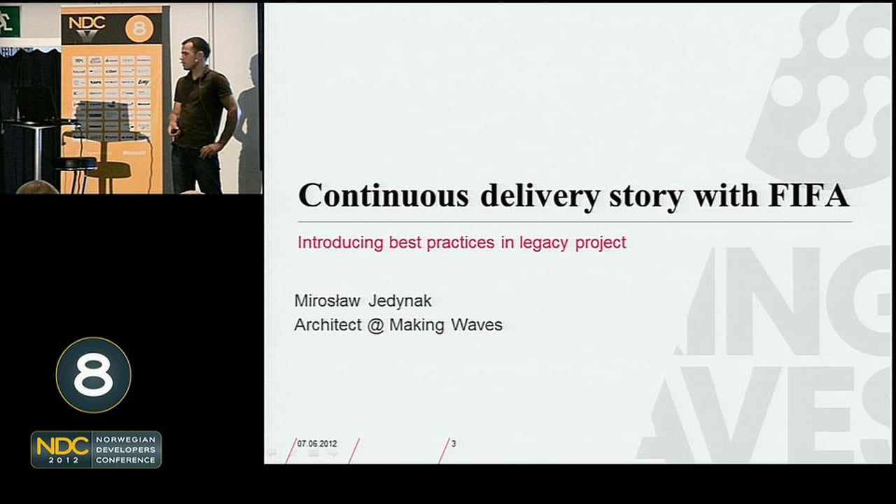 Continuous Delivery at FIFA