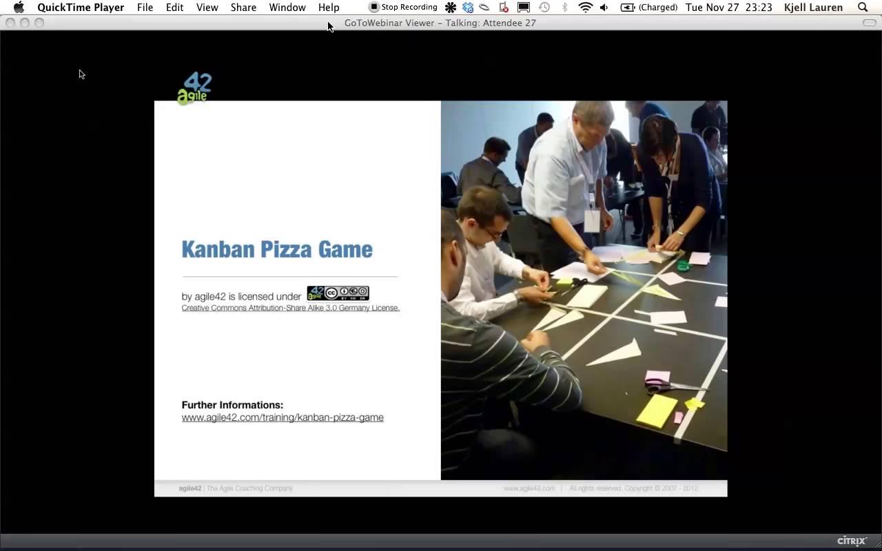 Creating the Kanban Pizza Game