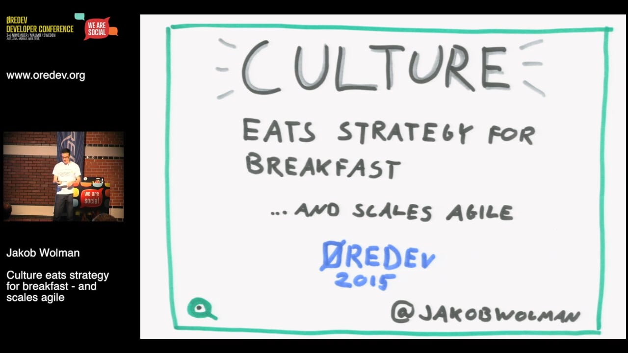 Scaling Agile: Culture Eats Strategy for Breakfast
