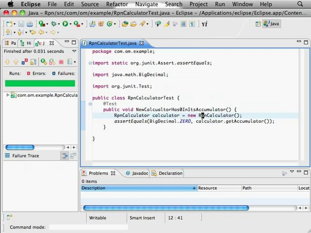 Getting Started with TDD in Java using Eclipse