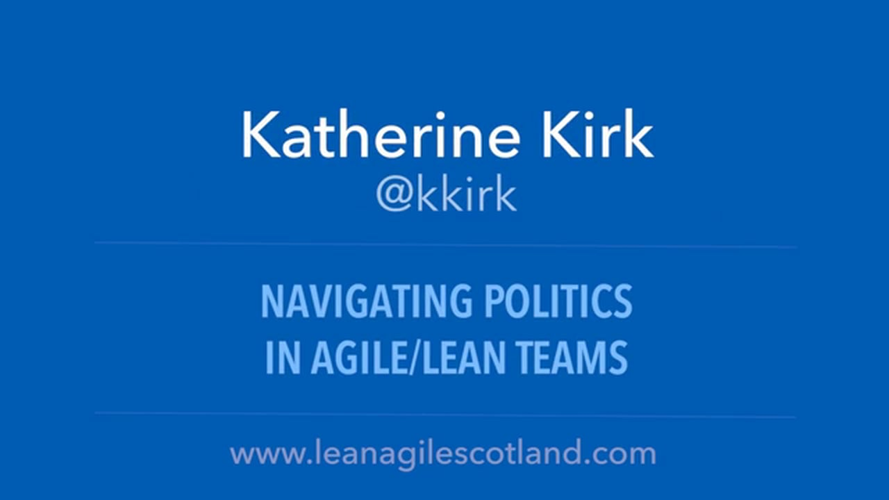 Navigating Politics in Agile Teams