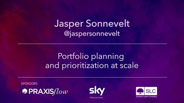 Portfolio Planning and Prioritisation at Scale