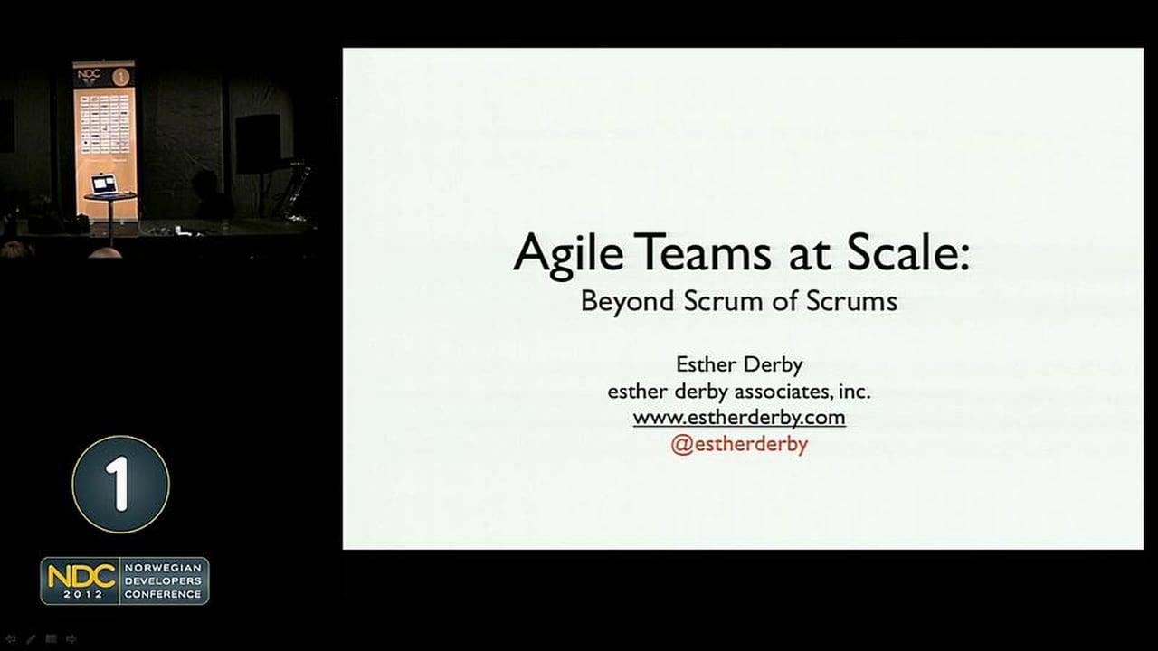 Scaling Agile Teams Beyond Scrum of Scrums