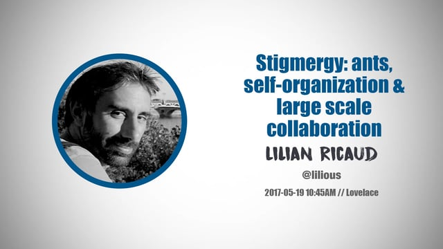 Stigmergy: Ants, Self-Organization & Large Scale Collaboration