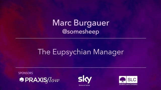 The Eupsychian Manager